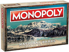 Monopoly: National Parks Special Edition [New ] Board Game