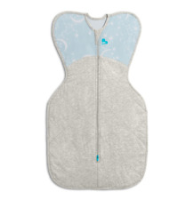 Brand new Love to dream swaddle up warm 2.5 tog blue small 3.5 to 6 kg