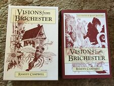 VISIONS FROM BRICHESTER Ramsey Campbell 1st ed 100 copy SIGNED/LTD LOVECRAFTIAN