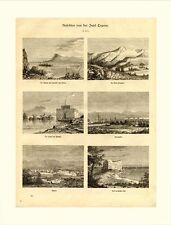 Ansichten von Zypern Larnaka Olympos Paphos Famagusta Nikosia  HOLZSTICH M520