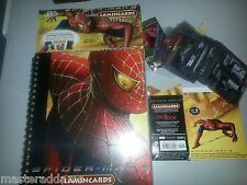 SPIDER-MAN 2 LAMINCARDS ALBUM & CARD SET of 100 Edibas 2004 Italy Only
