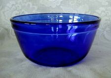 Collectible Anchor Hocking Cobalt Blue Glass 1 Quart Bowl - New - Made in U.S.A.