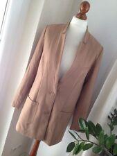 H&M Blazer Mantel 42 Camel Karamell   Blazermantel Longjacke Gehrock Jackett Neu