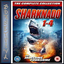 SHARKNADO COMPLETE COLLECTION -  4 FILM COLLECTION   *BRAND NEW DVD BOXSET**