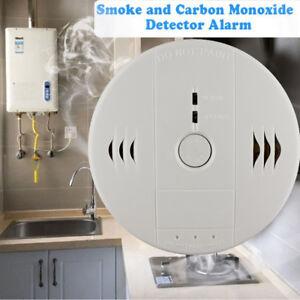 Rauchmelder CO Melder Alarm Kohlenmonoxid Rauchwarnmelder Kabellos 85 db