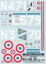 Colorado Decals 1/48 MORANE SAULNIER MS-406 French WWII Fighter Part 2