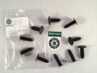 Bearmach Land Rover Defender Front Bumper End Cap Clips X10 DZM100080