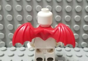 LEGO Red Minifigure Gargoyle Dragon Wings Neck Accessory Piece