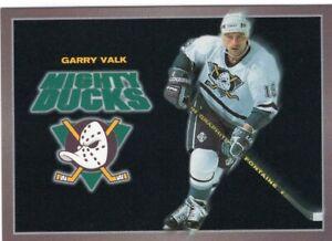 Garry Valk 1994-95 Anaheim Mighty Ducks Carl's Jr.