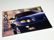 2000 Hyundai Tiburon Brochure