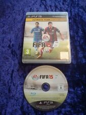 PS3 SONY PLAYSTATION 3 FIFA 15 EA SPORTS FOOTBALL SOCCER GAME.ULTIMATE TEAM