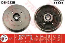 TRW DB4212B BRAKE DRUM Rear