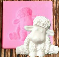 Sheep Mold Silicone Cake Mould Diy Craft Tool Baking Fondant Chocolate Candy