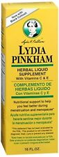 Lydia Pinkham Herbal Liquid Supplement 16 oz