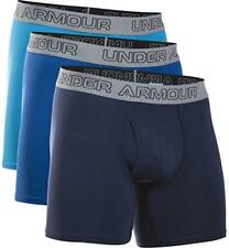 """Under Armour Men's Charged Cotton Stretch 6"""" Boxerjock 3-Pack Size Small"""
