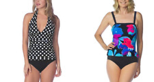 2 Bamboo Ladies' One Piece Swimsuit  VARIETY