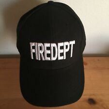 FIRE DEPT FIRED baseball hat FIREDEPT fire department NEW emergency NY LA 911