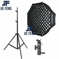 Godox 80cm Octagon honeycomb grid Umbrella Softbox and Light Stand  kit