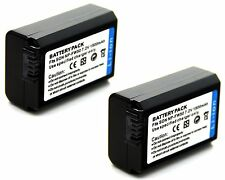 2xBattery for Sony Alpha 7 a7 7R a7R a3000 a5000 a6000 Mirrorless Digital Camera