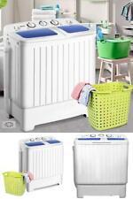 Washing Machine Washer Spinner Compact Twin Tub Dryer Laundry Mini Drain Pump