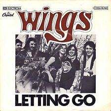 "7"" Wings (Paul McCartney / Beatles) – Letting Go // Germany 1975"