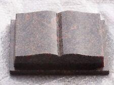 "Buch Granit ""Himalaya"" 30 x 20 x 8 cm / Grabstein"