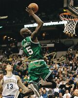 Kevin Garnett Signed Autograph 8X10 Photo Boston Celtics