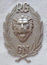 Insigne OBSOLÈTE GENDARMERIE NATIONALE RG RÉPUBLIQUE DE GUINÉE AFRIQUE 1960 40mm