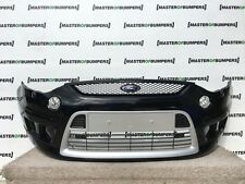 FORD S MAX ST 2006-2010 FRONT BUMPER IN BLACK FULLY COMPLETE GENUINE [F120]