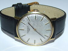 V Scarce Outstanding Vintage 1969 Longines 18ct Gold & S/S Gents Watch Cal 428