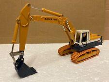 1/43 scale Tomica Dandy Komatsu pc200 excavator bagger 1st white cab  DK-001.