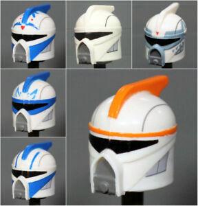 Custom CLONE SCUBA HELMET for Clones Star Wars Minifigures -Pick the Style!-