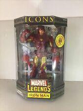 marvel legends icons iron man