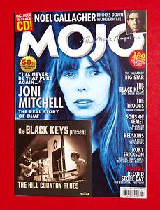 MOJO MAGAZINE July 2021 JONI MITCHELL The Black Keys WITH CD