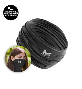 MISSION YOUTH NECK GAITER FACE MASK - COOLS - UPF 50 - YOUTH BLACK