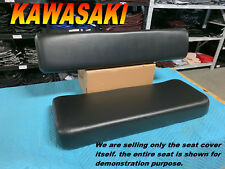 KAWASAKI MULE 4000 4010 NEW SEAT COVER UTV Diesel 4X4 KAF620 BLack covers 671
