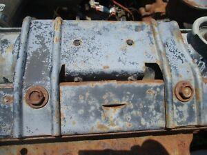 60-64 GALAXIE FAIRLANE UPPER TOP RADIATOR HOLD DOWN BRACKET BRACE FORD MERCURY