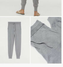 H&M Premium Quality Cashmere-blend joggers S Grey Marl BNWT