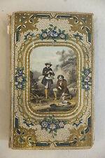 Trois mois de vacances, N. Souvestre, beau cartonnage romantique, 1858
