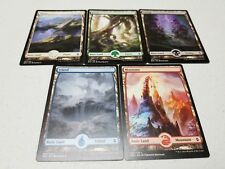 MTG MAGIC THE GATHERING - 100 FULL ART BASIC LANDS - CUSTOM LOT