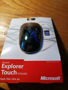 NIB Microsoft Explorer Touch Mouse Wireless - Microsoft Sealed New Standard