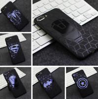 3D Marvel Avengers Batman Comics Ironman Superhero Soft Case Luxury Cover iPhone
