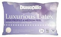 Dunlopillo Luxurious Latex High Profile & Medium Feel Pillow