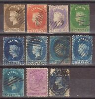 Ceylon Classic Lot: 145 Stamps. Quality Lot