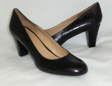 Easy Spirit Dreamday black leather pump 8 NARROW New