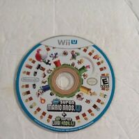 New Super Mario Bros. U + New Super Luigi U (Nintendo Wii U) Game Disc Only