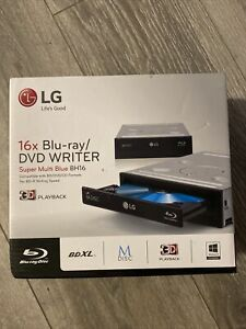 LG Electronics 16X SATA Blu-Ray Internal Rewriter w/ 3D Playback M-DISC BH16