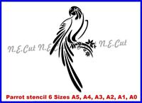 Parrot Reusable Stencil 6 Sizes A5 to A0 350 micron Mylar not thin stuff PARR04