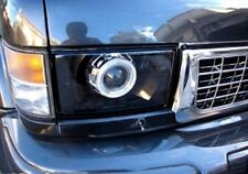 Isuzu Trooper 93-98 Clear Polycarbonate Covers Headlight for retrofit. Pair