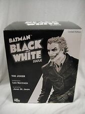 DC DIRECT  BATMAN Black and White THE JOKER STATUE By Lee Bermejo MIB!! Maquette